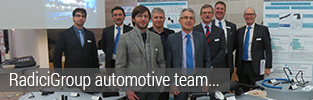 RadiciGroup automotive team visit Jaguar Land Rover: serving customers and sustainable innovation.